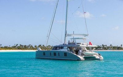 Sunreef 74 Sailing