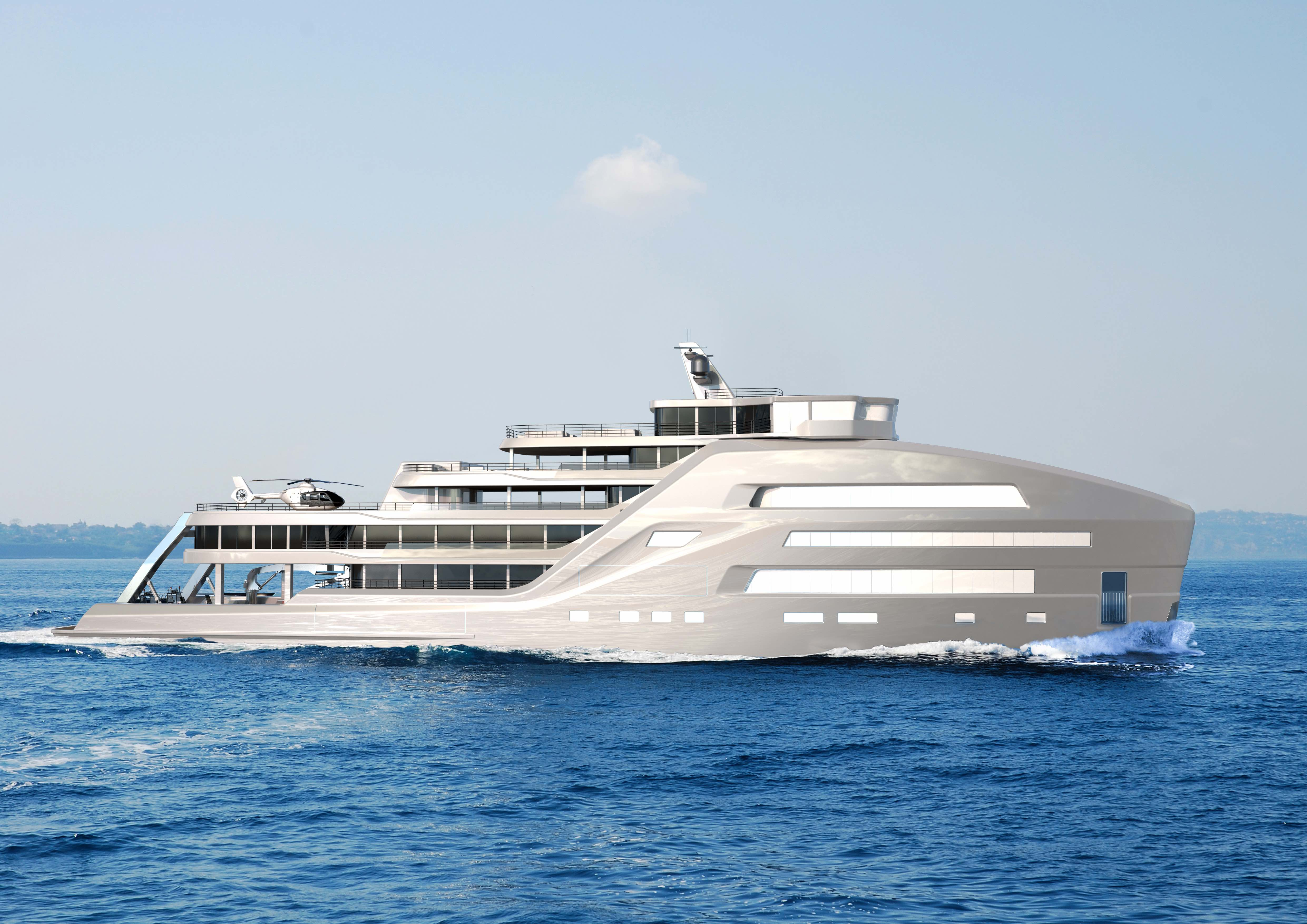 Explorer Yacht TABOO, a groundbreaking design!
