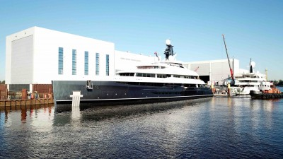 Megayacht ELANDESS 74m launched